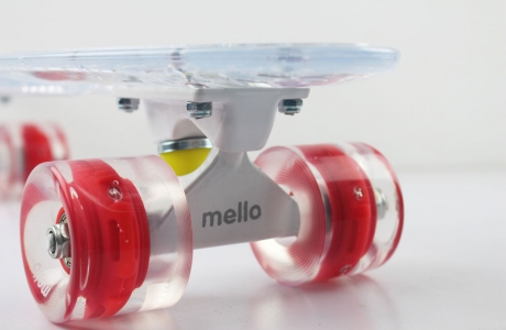 Blueberry Mello LED Skateboard - Super Model