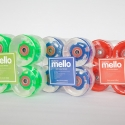 Mellow Skateboard LED Wheel Sets